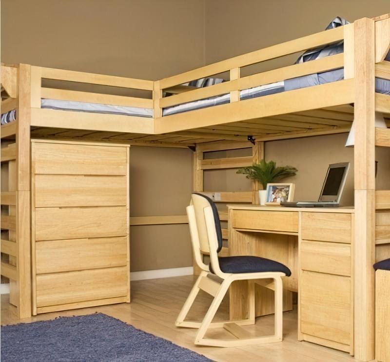 Дитячі двоярусні ліжка: приклади дизайну і виготовлення своїми руками 1