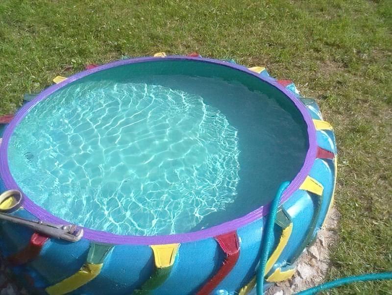 Створюємо басейн з покришок, ванни, бетонного кільця та інших підручних матеріалів 64