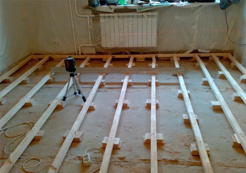 Гідроізоляція дерев'яної підлоги 1