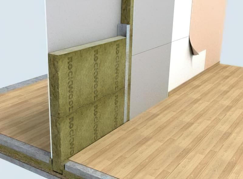 шумоізоляція стін