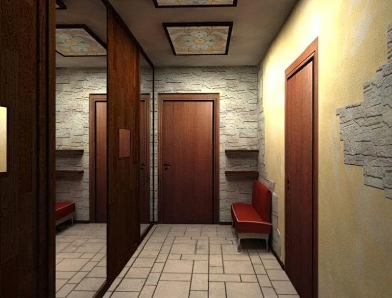 облаштування передпокою і коридору