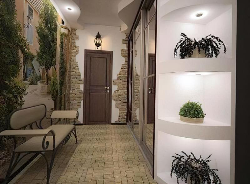 Варіанти обробки передпокою і коридору