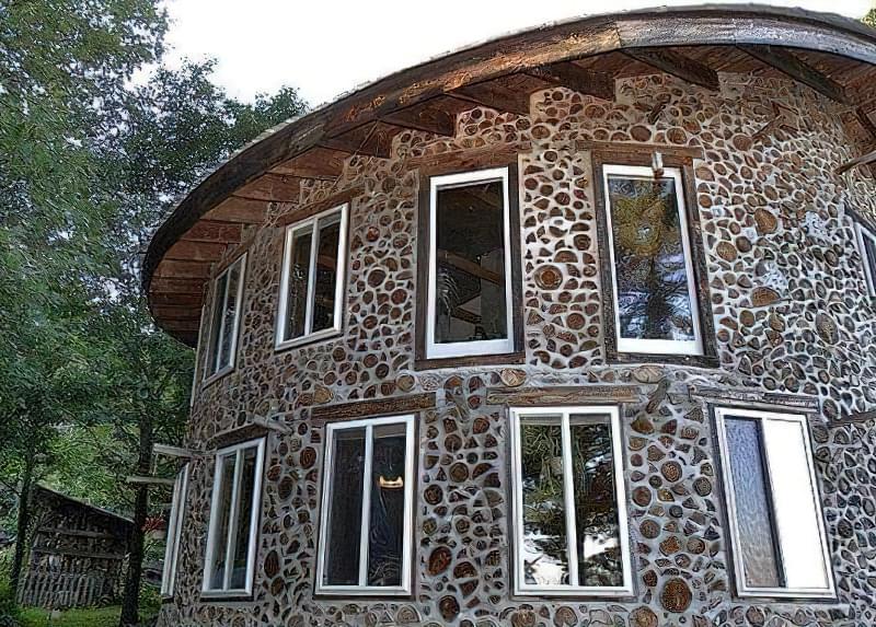Технологія будівництва будинку з дров і глини
