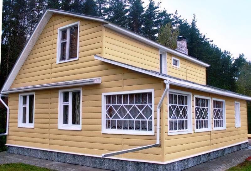 Технологія будівництва будинку з дров і глини 1