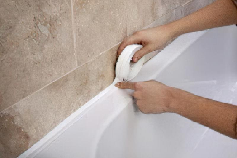 усунення дири в ванній