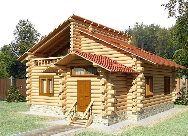 Дерев'яна лазня як будувати