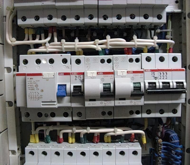 монтаж електропроводки 1