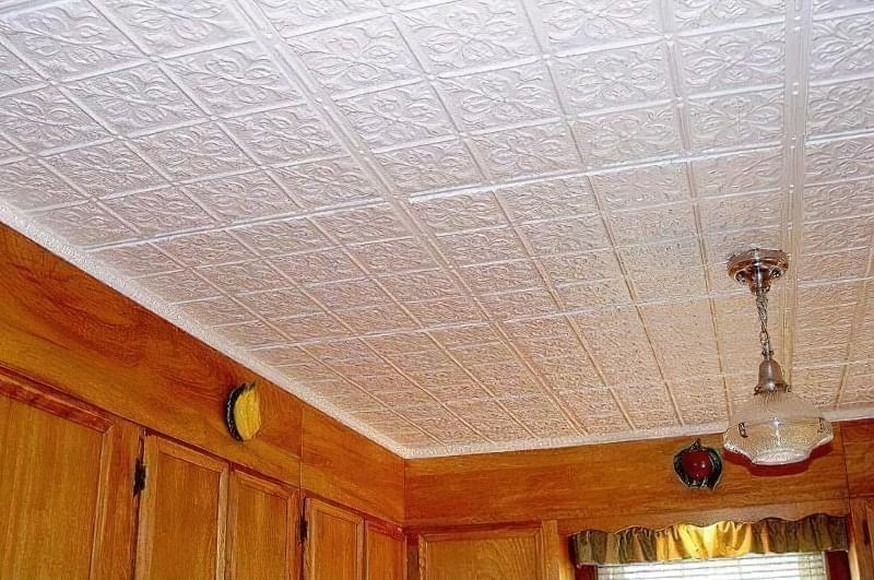 Плитка для стелі з пінопласту