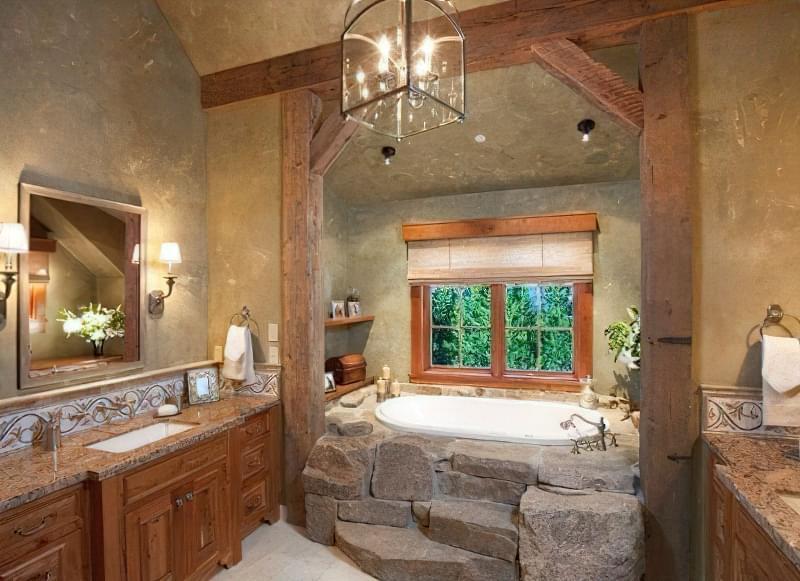 облашутвання ванної