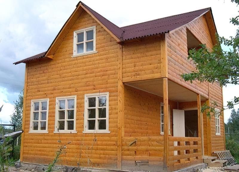 обробки каркасного будинку всередині і зовні