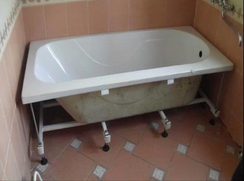 як встановити ванну5