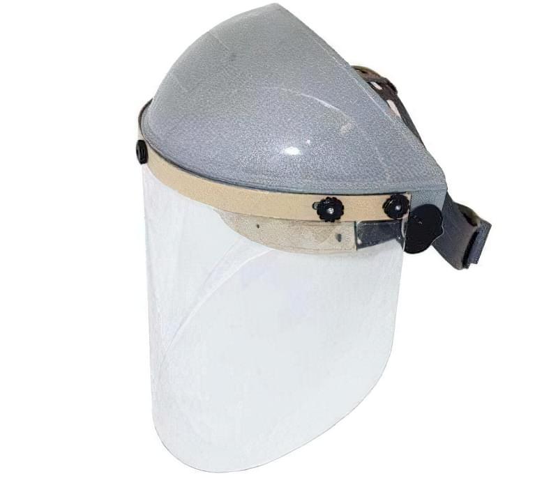 Щиток РОСОМЗ серії НБТ2 SUPER ВІЗІОН з ударостійкого і термостійкого полікарбонату, що володіють всіма властивостями для надійного захисту очей і обличчя.