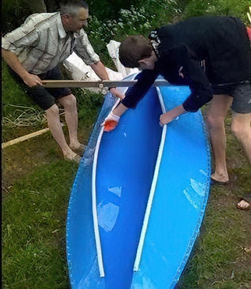 розборка човна