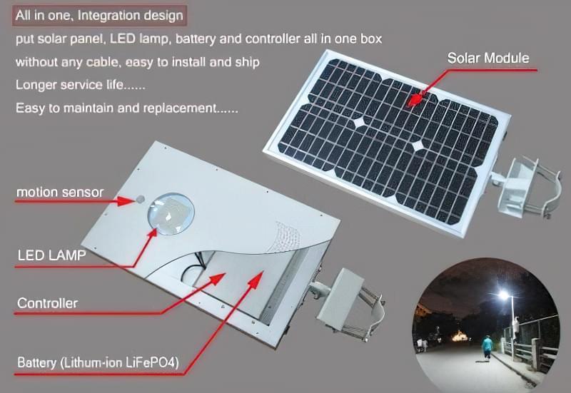 Пристрій автономного світильника