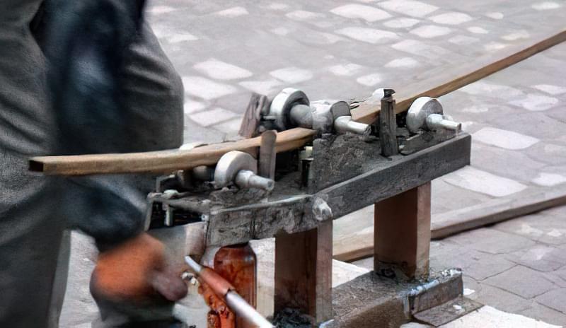 Саморобний трубовигинач