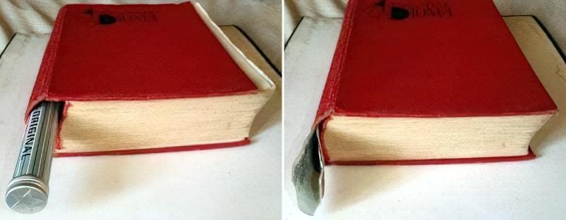Найпростіша схованка для грошей в книзі