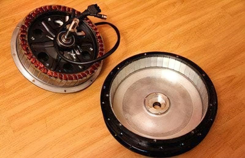 Мотор-колесо - готовий генератор для саморобної вітряної електростанції