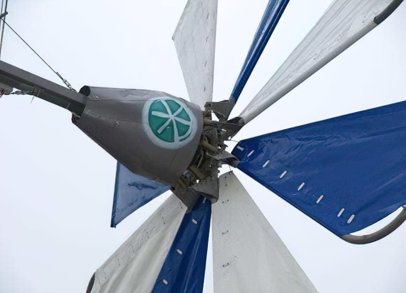 Вітрильний гвинт вітряка