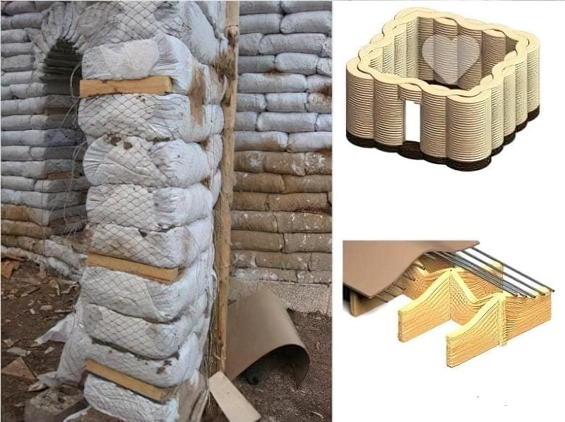 Будинки з мішків з землею і піском - Екотехнологія Earthbag1212