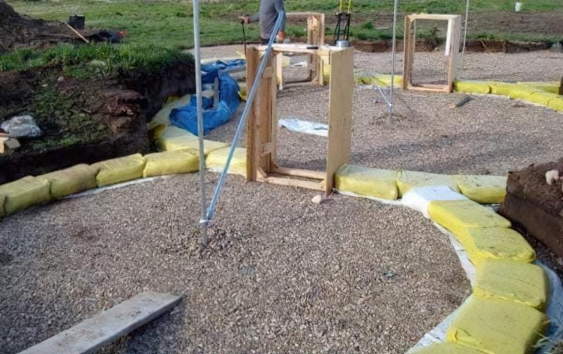 Будинки з мішків з землею і піском - Екотехнологія Earthbag356534