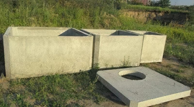 Заводи роблять не тільки круглі, а й прямокутні бетонні секції
