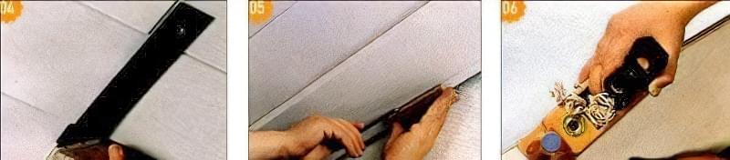 Облицювання стелі і стін дерев'яними панелями