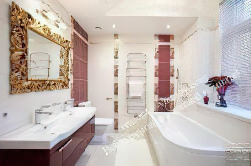Дизайн ванної кімнати 5 кв. м. 6