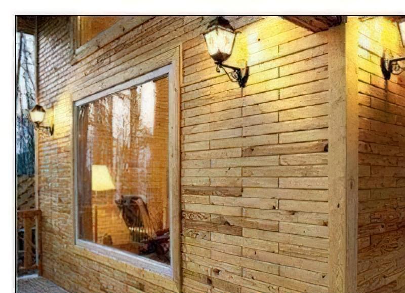 Дерев'яна цегла і будівництво з неї 47