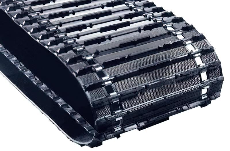 Стандартна гусениця (довжина 2828 мм, ширина 500 мм, висота грунтозацепів 21 мм)