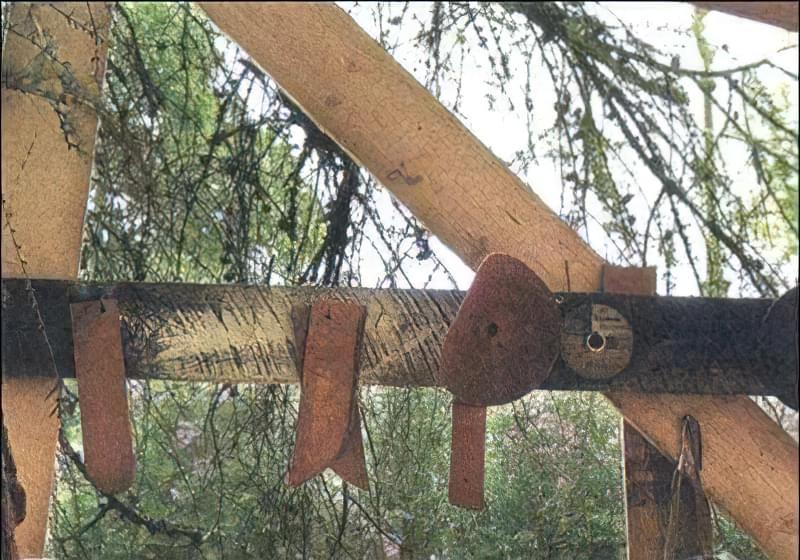 Мал. 3. «Лекала» для розмітки цегли