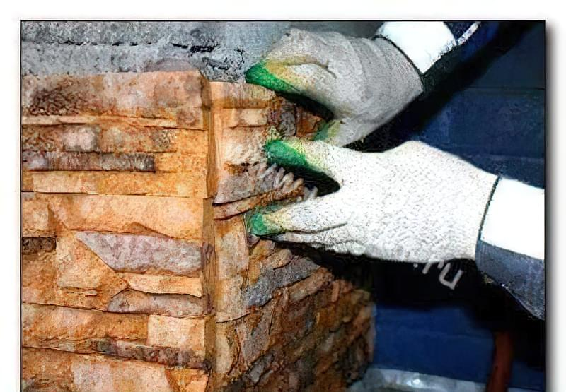 Укладання декоративного каменю своїми руками 45