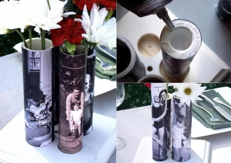 ваза з труби