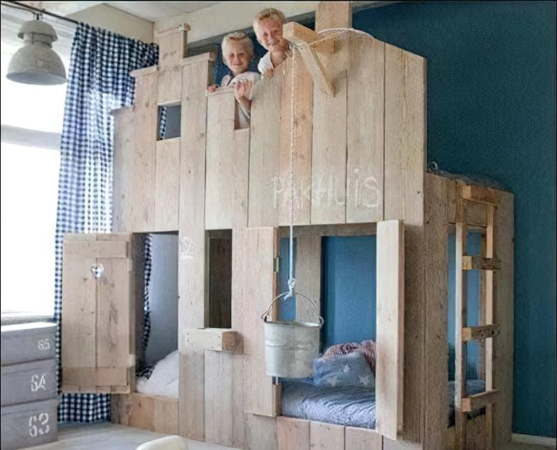 меблі в дитячу кімнату з піддонів своїми руками