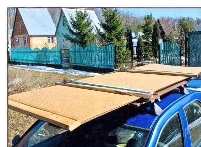 Простий багажник для автомобіля своїми руками 1