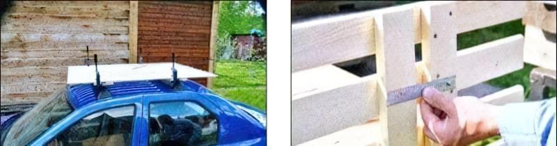 Простий багажник для автомобіля своїми руками