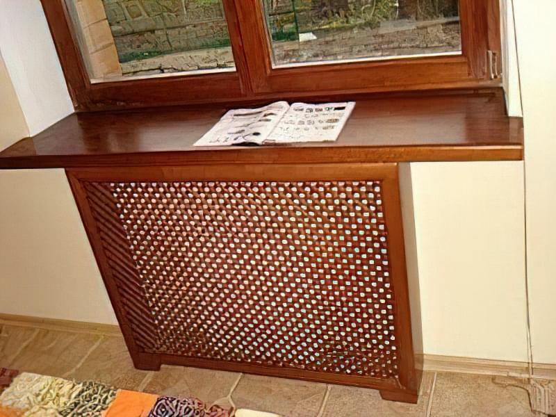 Екран для радіатора опалення: дизайн, фізика, конструкція 40