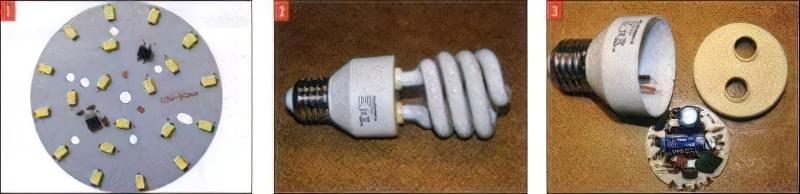 Світлодіодна лампа з економки