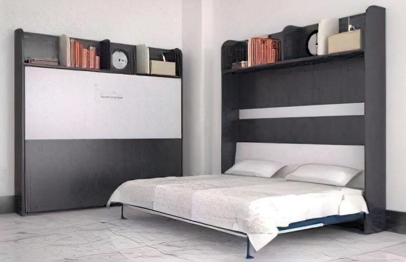 Відкидні ліжка трансформери: варіанти і можливості використання 36