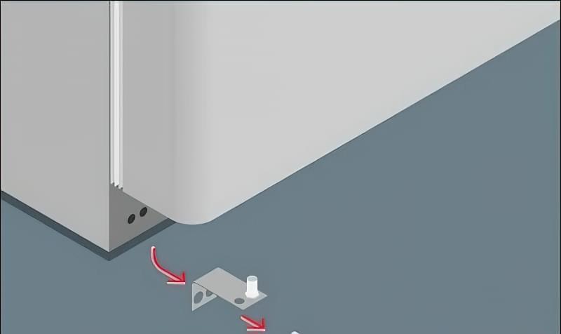 Як перевісити двері холодильника