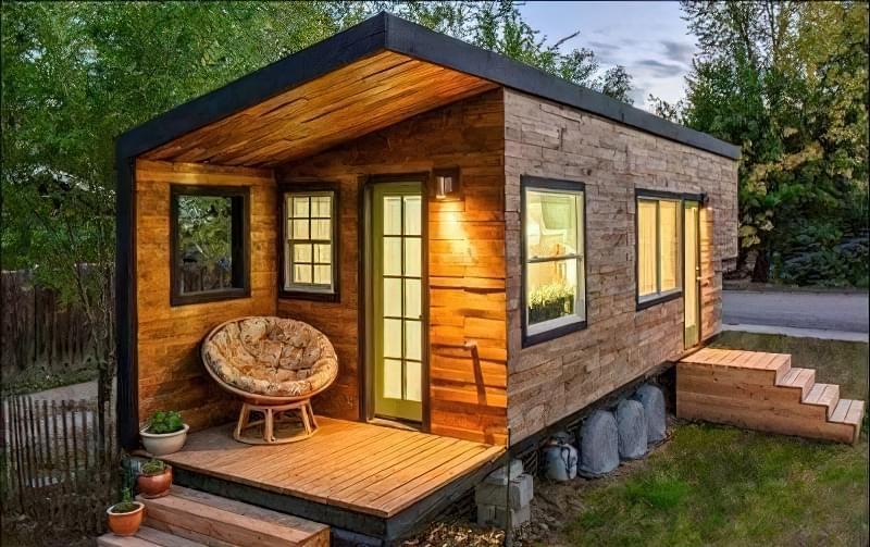 Дешевий будинок з контейнерів, проекти будинків, фото 4
