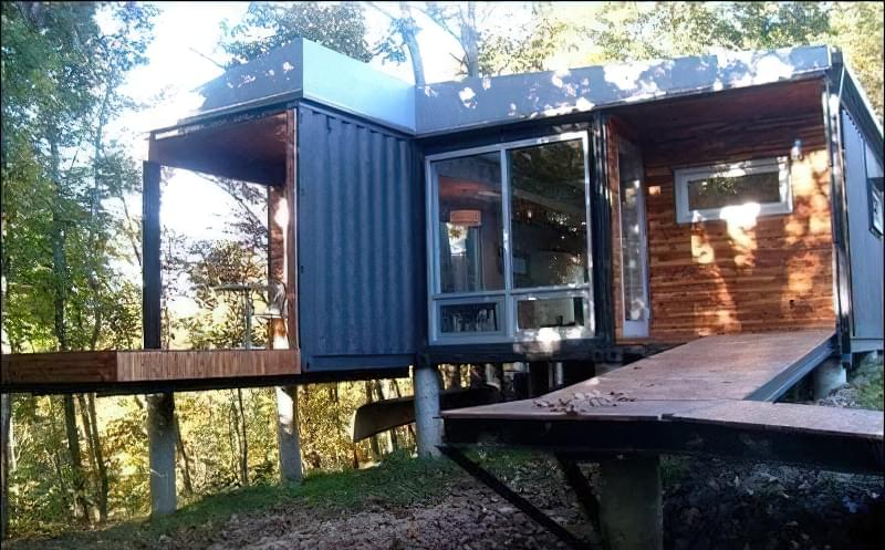 Дешевий будинок з контейнерів, проекти будинків, фото 3
