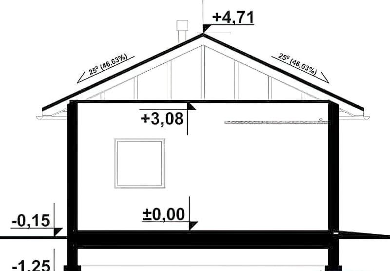 Построить гараж из профнастила чертежи