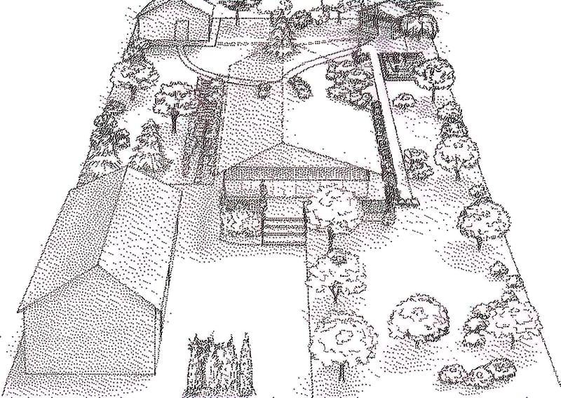 Ландшафтний дизайн і планування маленької земельної ділянки 2
