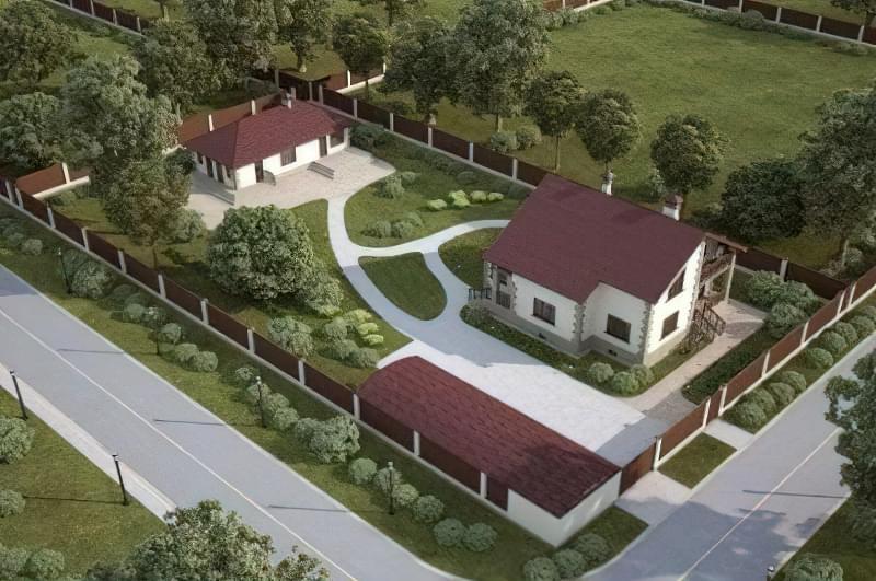 Ландшафтний дизайн і планування маленької земельної ділянки 3