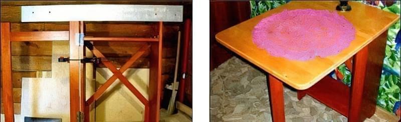кухонний стіл своїми руками