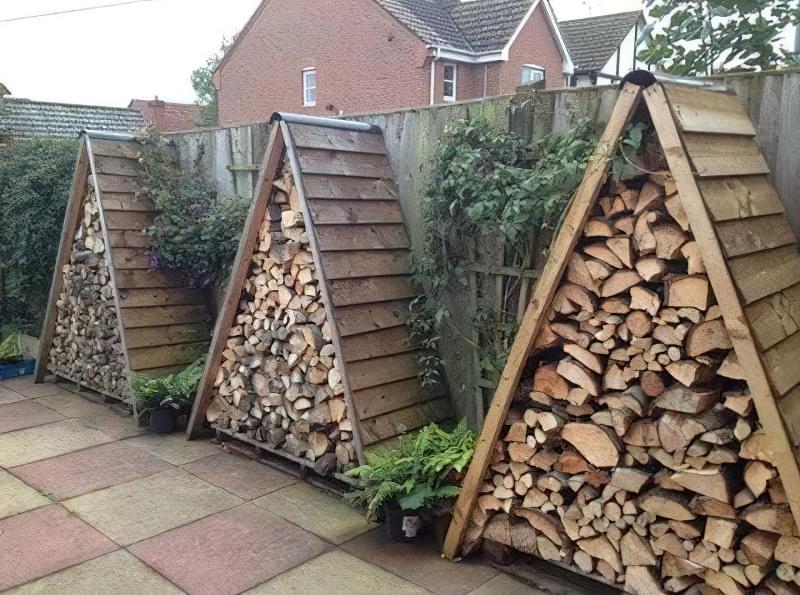 Способи укладання дров на ділянці: як скласти стіс своїми руками? 3