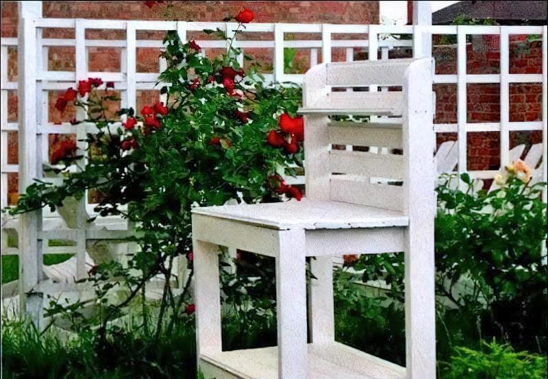Столик садівника креслення