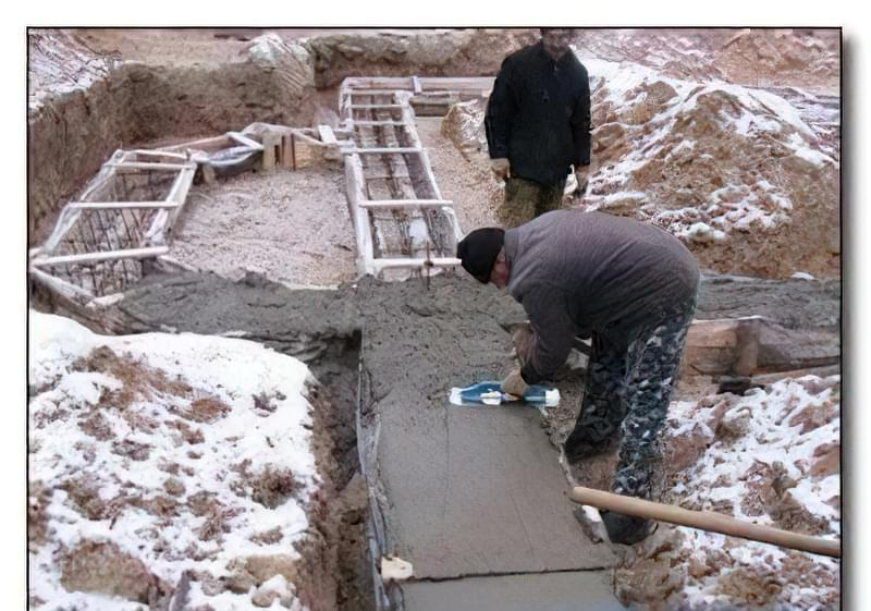 Технологія заливки бетону зимою 19
