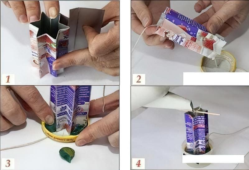 Як зробити ажурні свічки своїми руками 1