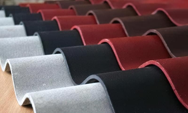 Кольоровий шифер хвильовий – найпростіший спосіб прикрасити паркан